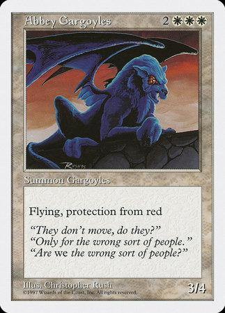 Abbey Gargoyles [Fifth Edition] | TCG Master