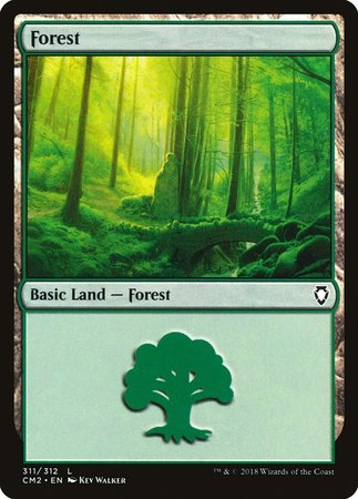Forest (311) [Commander Anthology Volume II] | TCG Master