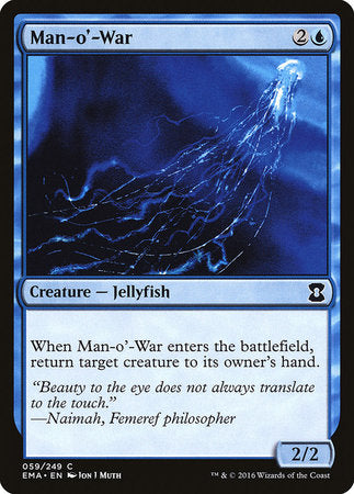 Man-o'-War [Eternal Masters] | TCG Master