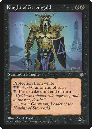 Knight of Stromgald [Ice Age] | TCG Master
