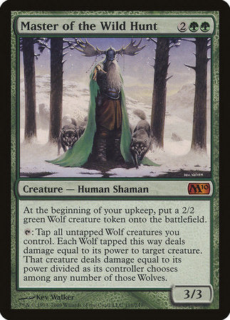 Master of the Wild Hunt [Magic 2010] | TCG Master