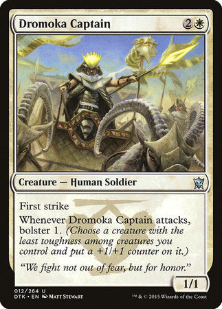 Dromoka Captain [Dragons of Tarkir] | TCG Master