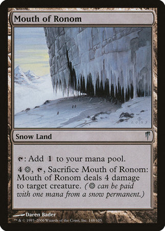 Mouth of Ronom [Coldsnap] | TCG Master
