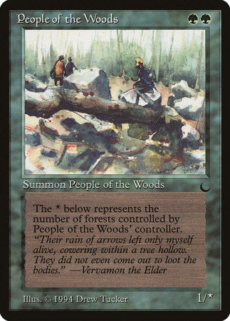 People of the Woods [The Dark] | TCG Master
