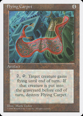 Flying Carpet [Fourth Edition] | TCG Master