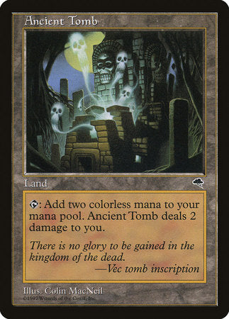 Ancient Tomb [Tempest] | TCG Master