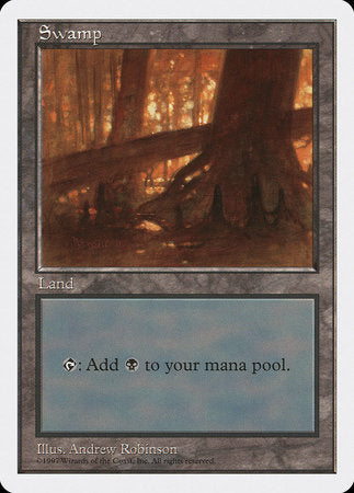 Swamp (444) [Fifth Edition] | TCG Master