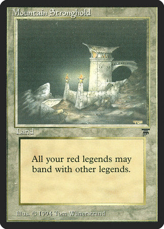 Mountain Stronghold [Legends] | TCG Master