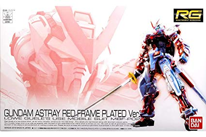 Gundam Astray Red Frame Plated Ver | TCG Master