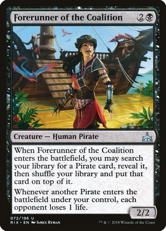 Forerunner of the Coalition [Rivals of Ixalan] | TCG Master