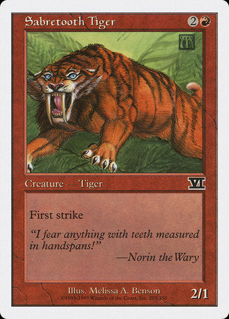 Sabretooth Tiger [Classic Sixth Edition] | TCG Master
