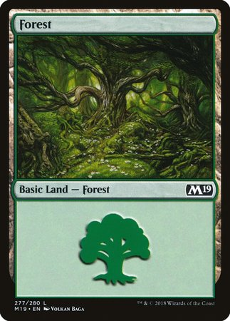 Forest (277) [Core Set 2019] | TCG Master