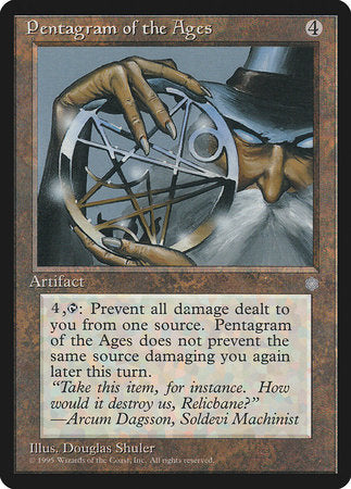 Pentagram of the Ages [Ice Age] | TCG Master