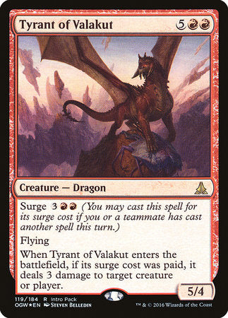 Tyrant of Valakut [Oath of the Gatewatch Promos] | TCG Master
