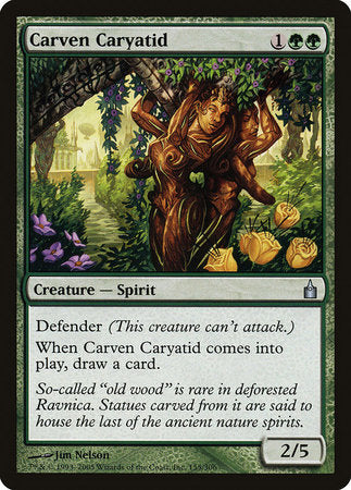Carven Caryatid [Ravnica: City of Guilds] | TCG Master