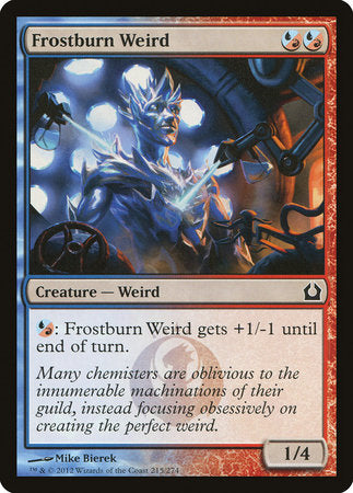 Frostburn Weird [Return to Ravnica] | TCG Master