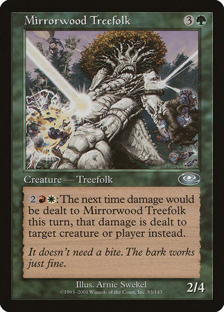 Mirrorwood Treefolk [Planeshift] | TCG Master