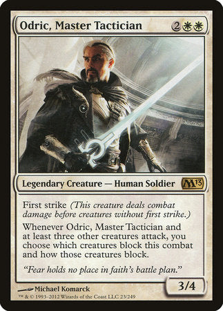 Odric, Master Tactician [Magic 2013] | TCG Master