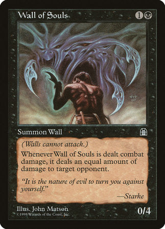 Wall of Souls [Stronghold] | TCG Master