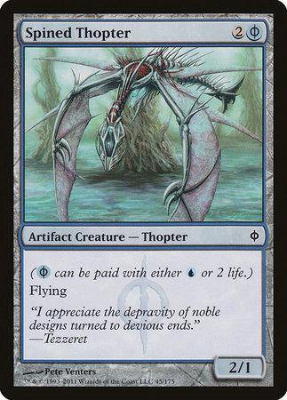 Spined Thopter [New Phyrexia] | TCG Master