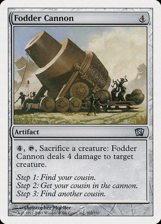 Fodder Cannon [Eighth Edition] | TCG Master