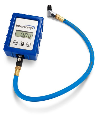 Intercomp Digital Air Pressure Gauge with Case
