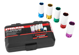 Steelman 5PC Socket Set with Nylon Sleeve