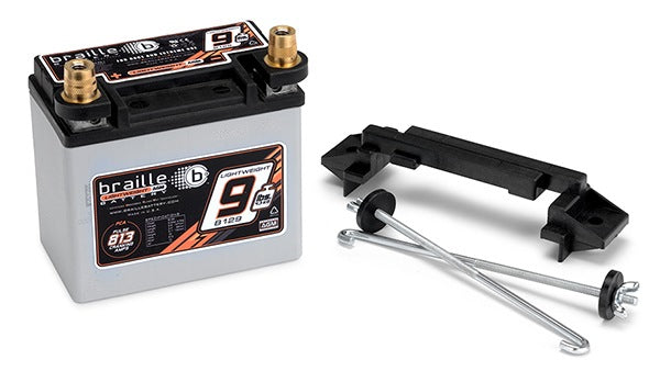 Braille Lightweight Racing Battery (Standard Case w/Mount) 9 lbs