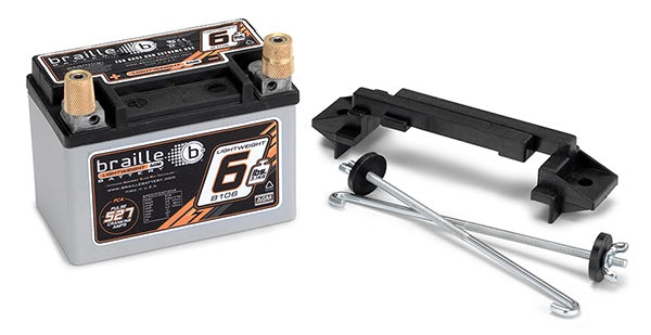 Braille Lightweight Racing Battery (Standard Case w/Mount) 6 lbs