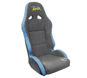 NRG DF-100GY Fixed Back Seat