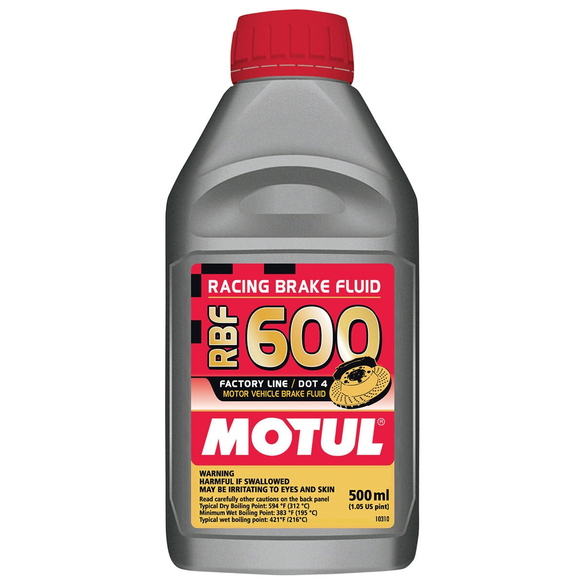 Motul RBF 600 DOT 4 Brake Fluid