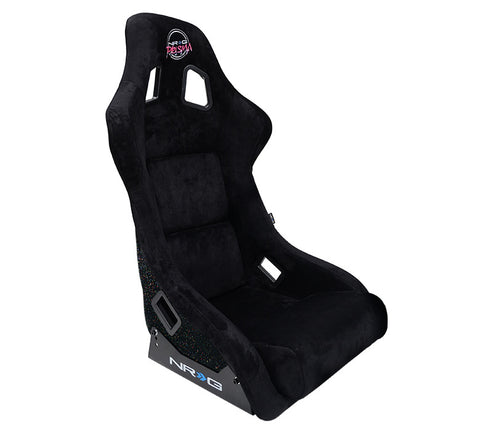 NRG FRP-302BK-PRISMA Large Fixed Back Race Seat
