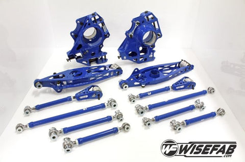 Wisefab BMW E9X rear kit WF901