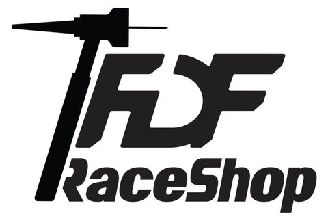 FDF RACE SHOP STICKER