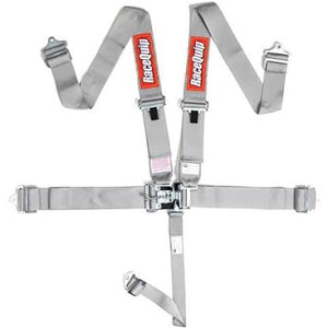 Racequip 5-Point SFI 16.1 Latch & Link Harness Set