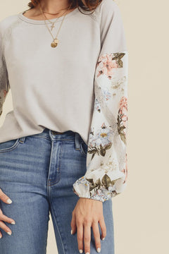 Sweet Bliss Floral Blouse