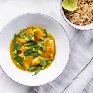 Fish or Veg Thai Green Curry Recipe