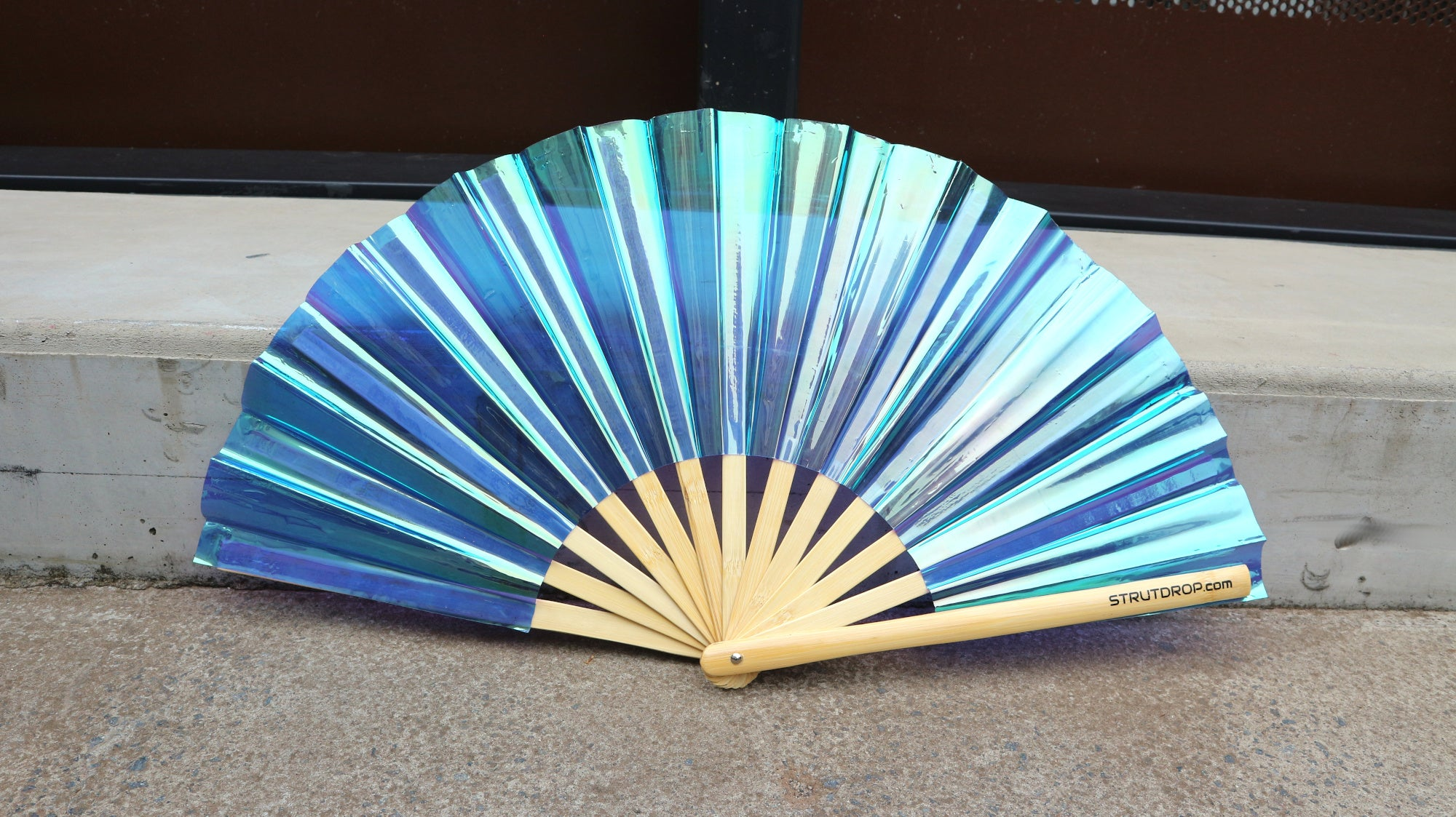 BLAZING BLUE IRIDESCENT: BAMBOO