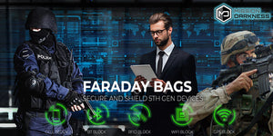 Faraday bags for blocking and shielding electronic devices