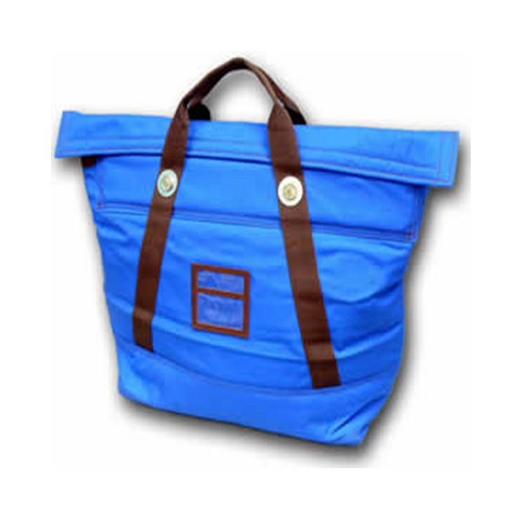 Fire proof courier security bag blue large. Fire retardant secure bag, sensitive material