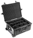 1610 Pelican Protector Case Black with dividers