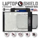 Mission Darkness Window Faraday Bag For Laptops Advanced Wireless Device Shielding