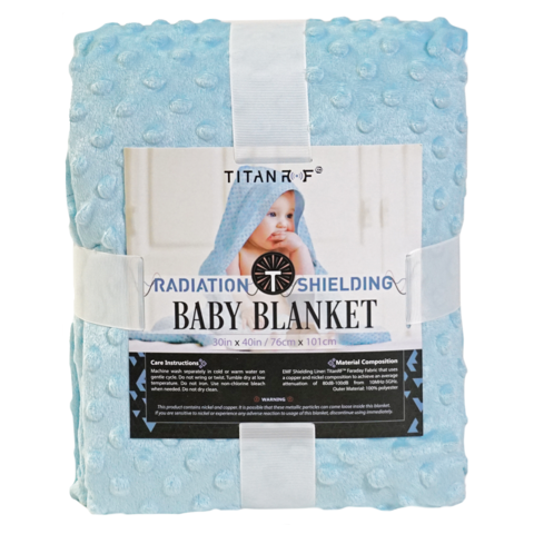 MISSION DARKNESS RADIATION SHIELDING BABY BLANKET