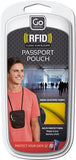 RFID pasport pouch hangs around neck Go travel products