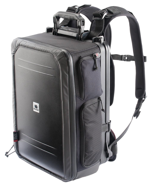S115 Pelican Sport Camera Backpack Black Front