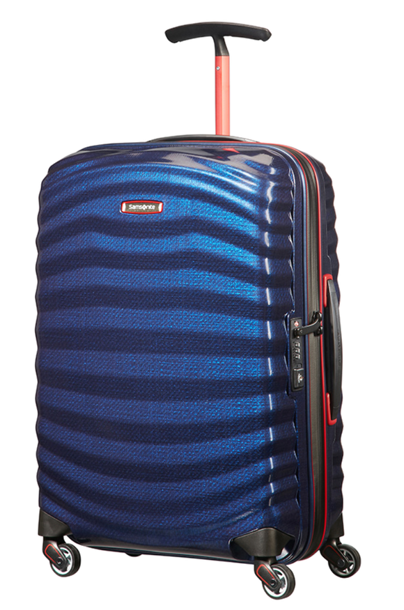 SAMSONITE LITE-SHOCK SPORT SPINNER 55CM Nautical Blue
