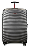 Samsonite Lite-Shock Sport 75cm Spinner Eclipse Grey/Red front