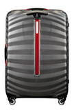 Samsonite Lite-Shock Sport 75cm Spinner Eclipse Grey/Red back