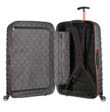 Samsonite Lite-Shock Sport 75cm Spinner Eclipse Grey/Red inside