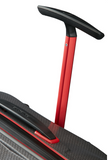 Samsonite Lite-Shock Sport 75cm Spinner Eclipse Grey/Red pull handle